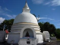 A Stupa on a sunny day